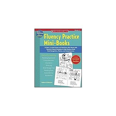 Scholastic Best Practices In Action: Fluency Practice Mini-Books: Grade 1 History Workbook, Grade 1 [eBook]