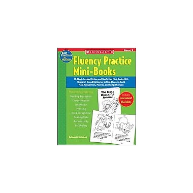 Scholastic Fluency Practice Mini-Books: Grade 2 Reading & Writing Workbook, Grade 2 [Enhanced eBook]