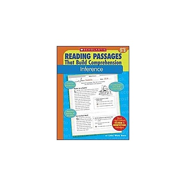 Scholastic Reading Passages That Build Comprehension: Inference Reading & Writing Workbook, Grade 2 - Grade 3 [Enhanced eBook]
