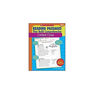 Scholastic Reading Passages That Build Comprehension: Context Clues, Grade 2 - Grade 3 [Enhanced eBook]