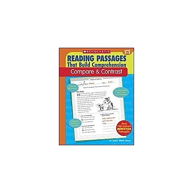 Scholastic Reading Passages That Build Comprehension: Compare and Contrast Reading & Writing Workbook, Grade 2 - Grade 3 [eBook]