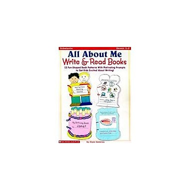 Scholastic All About Me Write and Read Books Reading & Writing Workbook, Grade 1 - Grade 2 [eBook]