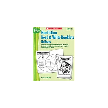 Scholastic Nonfiction Read & Write Booklets: Holidays Language Arts Workbook, Grade 2 - Grade 3 [Enhanced eBook]