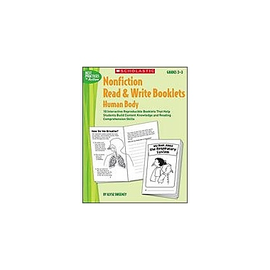 Scholastic Nonfiction Read & Write Booklets: Human Body Language Arts Workbook, Grade 2 - Grade 3 [Enhanced eBook]
