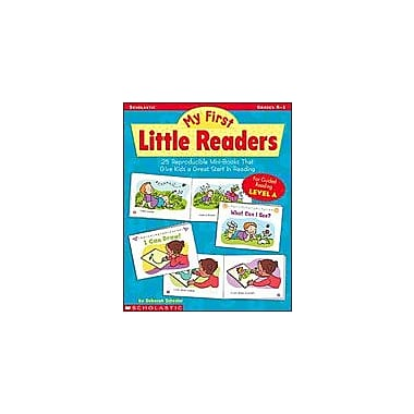 Scholastic My First Little Readers: Level A Reading & Writing Workbook, Kindergarten - Grade 1 [Enhanced eBook]