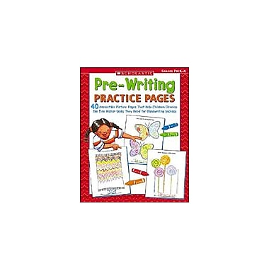 Scholastic Pre-Writing Practice Pages Language Arts Workbook, Preschool - Kindergarten [eBook]