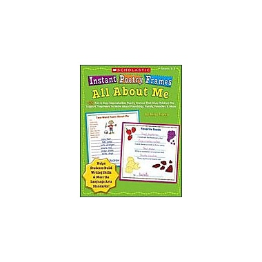 Scholastic Instant Poetry Frames: All About Me Reading & Writing Workbook, Grade 1 - Grade 3 [Enhanced eBook]