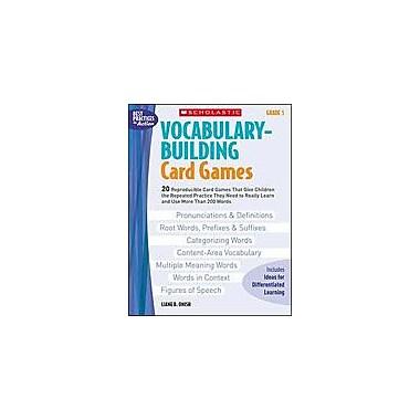 Scholastic Vocabulary-Building Card Games: Grade 5 Puzzles Workbook, Grade 5 [eBook]