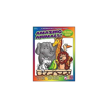Scholastic Coloring Book: Amazing Animals Art & Music Workbook, Preschool - Kindergarten [eBook]