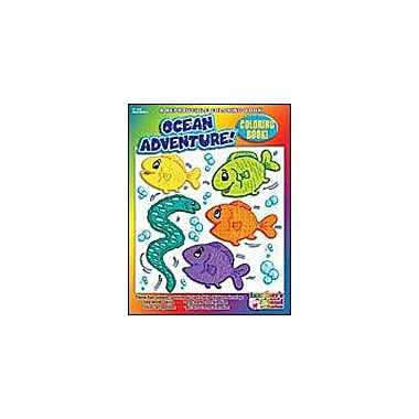 Scholastic Coloring Book: Ocean Adventures Art & Music Workbook, Preschool - Kindergarten [eBook]