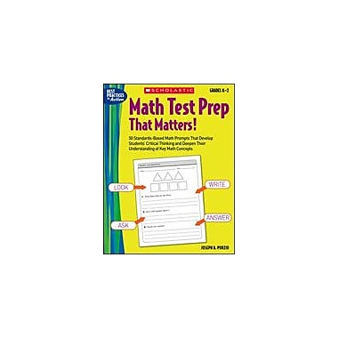 Scholastic Math Test Prep That Matters! Grades K-2 Math Workbook, Kindergarten - Grade 2 [eBook]