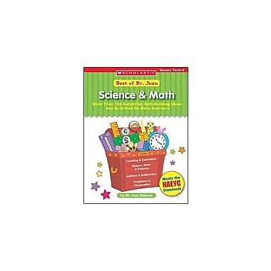 Scholastic Best of Dr. Jean: Science & Math Math Workbook, Preschool - Kindergarten [Enhanced eBook]