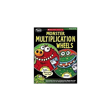 Scholastic Monster Multiplication Wheels Math Workbook, Grade 2 - Grade 4 [Enhanced eBook]