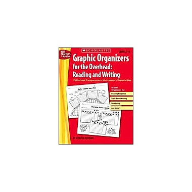 Scholastic Graphic Organizers for the Overhead: Reading and Writing, Grade 2 - Grade 6 [Enhanced eBook]
