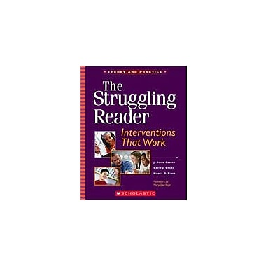 Scholastic The Struggling Reader: Interventions That Work Business Workbook, Kindergarten - Grade 8 [Enhanced eBook]