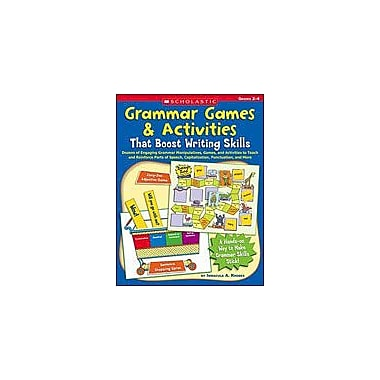 Scholastic Grammar Games & Activities That Boost Writing Skills Problem Solving Workbook, Grade 2 - Grade 4 [Enhanced eBook]