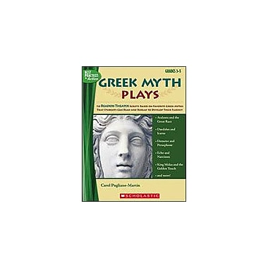 Scholastic Greek Myth Plays Reading & Writing Workbook, Grade 3 - Grade 5 [Enhanced eBook]