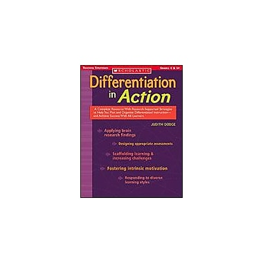 Scholastic Differentiation In Action Business Workbook, Grade 4 - Grade 12 [Enhanced eBook]