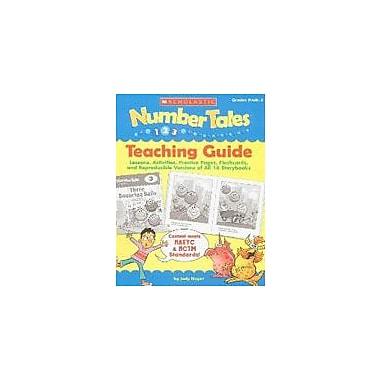 Scholastic Number Tales: Teaching Guide Math Workbook, Preschool - Grade 1 [Enhanced eBook]