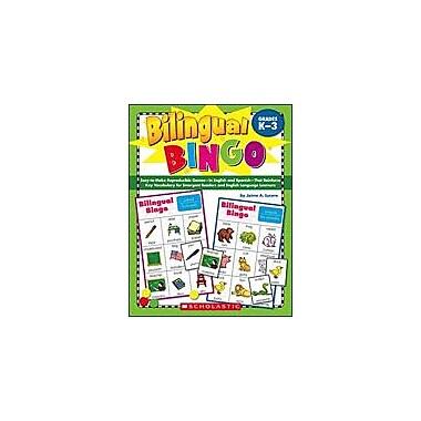 Scholastic Bilingual Bingo Problem Solving Workbook, Kindergarten - Grade 3 [eBook]