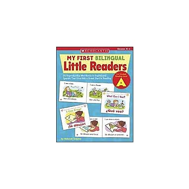 Scholastic My First Bilingual Little Readers: Level A Language Arts Workbook, Kindergarten - Grade 1 [eBook]