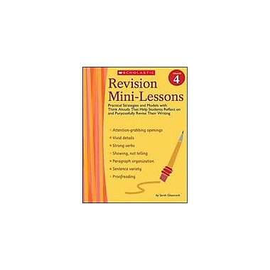 Scholastic Revision Mini-Lessons: Grade 4 Reading & Writing Workbook, Grade 4 [Enhanced eBook]