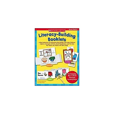Scholastic Literacy-Building Booklets Language Arts Workbook, Preschool - Kindergarten [eBook]