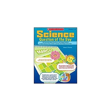 Scholastic Science Question of the Day Science Workbook, Grade 3 - Grade 6 [eBook]
