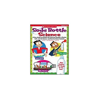 Scholastic Soda Bottle Science Science Workbook, Grade 4 - Grade 8 [eBook]