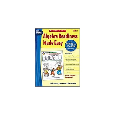 Scholastic Algebra Readiness Made Easy: Grade 1 Math Workbook, Grade 1 [eBook]