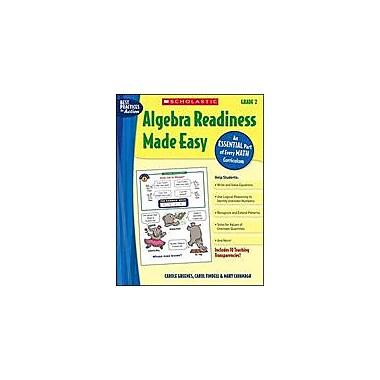 Scholastic Algebra Readiness Made Easy: Grade 2 Math Workbook, Grade 2 [Enhanced eBook]