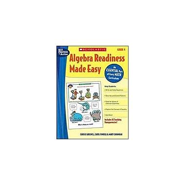 Scholastic Algebra Readiness Made Easy: Grade 4 Math Workbook, Grade 4 [Enhanced eBook]