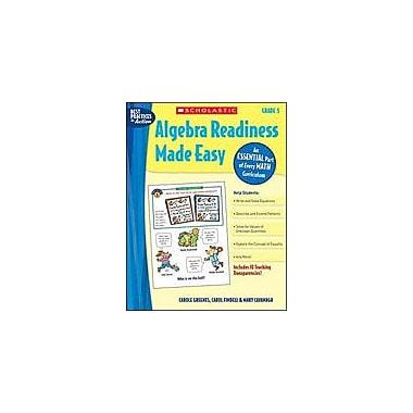 Scholastic Algebra Readiness Made Easy: Grade 5 Math Workbook, Grade 5 [Enhanced eBook]