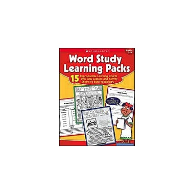 Scholastic Word Study Learning Packs Language Arts Workbook, Grade 3 - Grade 6 [Enhanced eBook]