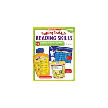 Scholastic Building Real-Life Reading Skills Reading & Writing Workbook, Grade 3 - Grade 5 [eBook]
