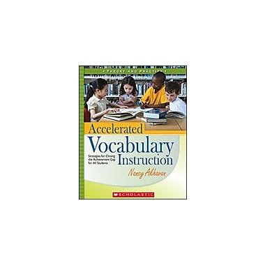 Scholastic Accelerated Vocabulary Instruction Language Arts Workbook, Grade 2 - Grade 6 [eBook]