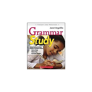 Scholastic Grammar Study Grammar Workbook, Grade 3 - Grade 6 [Enhanced eBook]