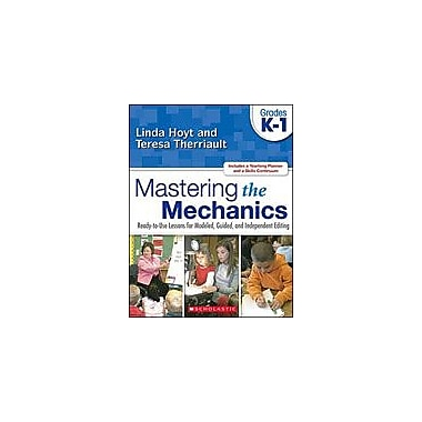Scholastic Mastering the Mechanics: Grades K-1 Language Arts Workbook, Kindergarten - Grade 1 [eBook]