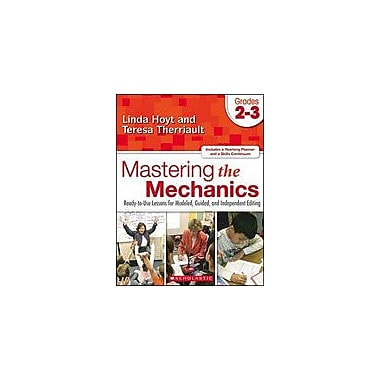 Scholastic Mastering the Mechanics: Grades 2-3 Language Arts Workbook, Grade 2 - Grade 3 [eBook]