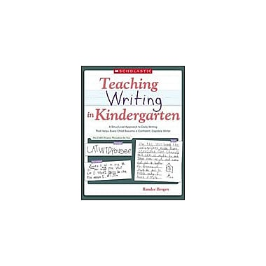 Scholastic Teaching Writing In Kindergarten Language Arts Workbook, Kindergarten [Enhanced eBook]