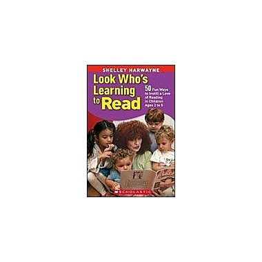 Scholastic Look Who's Learning To Read Reading & Writing Workbook, Preschool - Kindergarten [eBook]