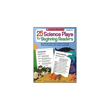 Scholastic 25 Science Plays for Beginning Readers Science Workbook, Grade 1 - Grade 2 [Enhanced eBook]