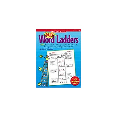 Scholastic Daily Word Ladders: Grades 1-2 Reading & Writing Workbook, Grade 1 - Grade 2 [eBook]