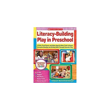 Scholastic Literacy-Building Play In Preschool Reading & Writing Workbook, Preschool [Enhanced eBook]