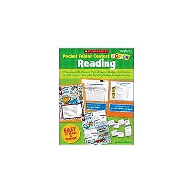 Scholastic Pocket-Folder Centers In Color: Reading Grades 2-3 Grammar Workbook, Grade 2 - Grade 3 [eBook]