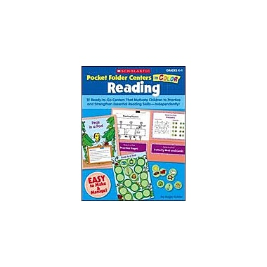 Scholastic Pocket-Folder Centers In Color: Reading Grades K-1 Reading & Writing Workbook, Kindergarten - Grade 1 [eBook]