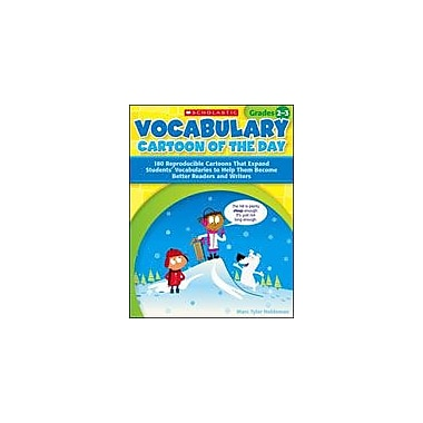 Scholastic Vocabulary Cartoon of the Day for Grades 2-3 Language Arts Workbook, Grade 2 - Grade 3 [eBook]