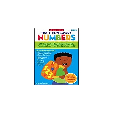 Scholastic First Homework: Numbers Math Workbook, Preschool - Kindergarten [Enhanced eBook]