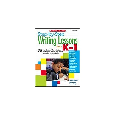 Scholastic Step-By-Step Writing Lessons for Kindergarten - Grade 1, Kindergarten - Grade 1 [Enhanced eBook]