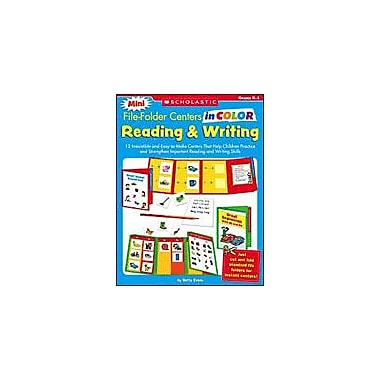 Scholastic Mini File-Folder Centers In Color: Reading and Writing, Grades K-1, Kindergarten - Grade 1 [Enhanced eBook]